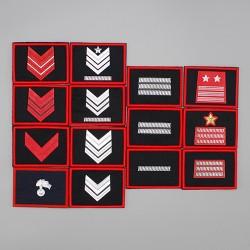 Gradi velcro per OP Carabinieri Brigadieri Marescialli