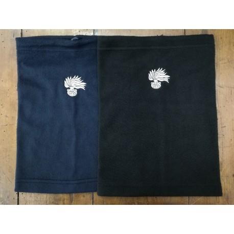 Scaldacollo Carabinieri blu o nero fiamma argento