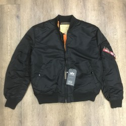 Alpha Industries Bomber MA-1 nero