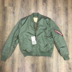 Alpha Industries Bomber MA-1 verde