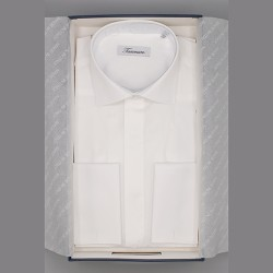 Camicia puro cotone mod lusso per divisa di gala