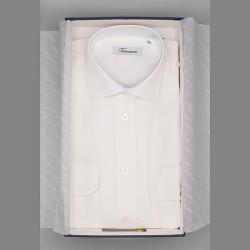 Camicia puro cotone mod. lusso tasche e spalline
